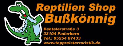 Reptilienshop Bußkönnig